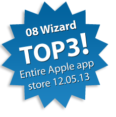08 Wizard No.2! (Apple app store utils 23.05.13)